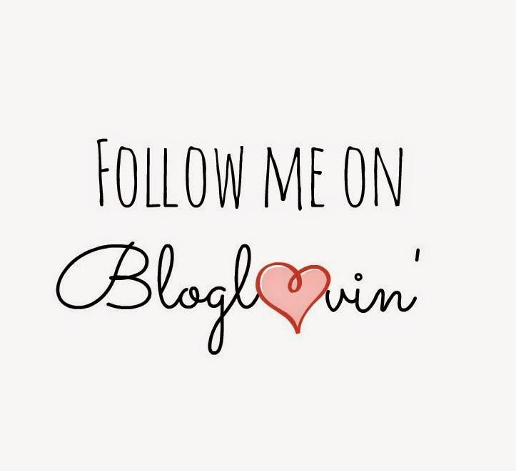 Follow the blog on Bloglovin'