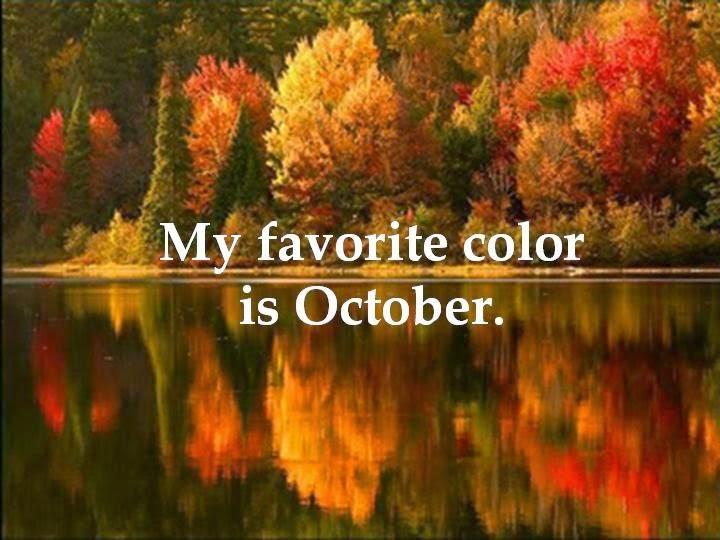Hello October!!!