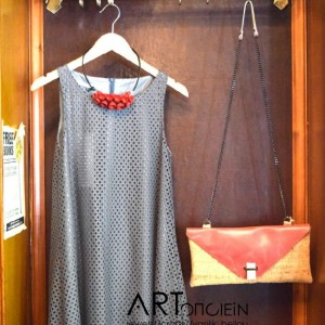 Look of the weekend red handbag Artonomous