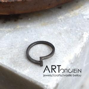 Potnia rings silver Artonomous