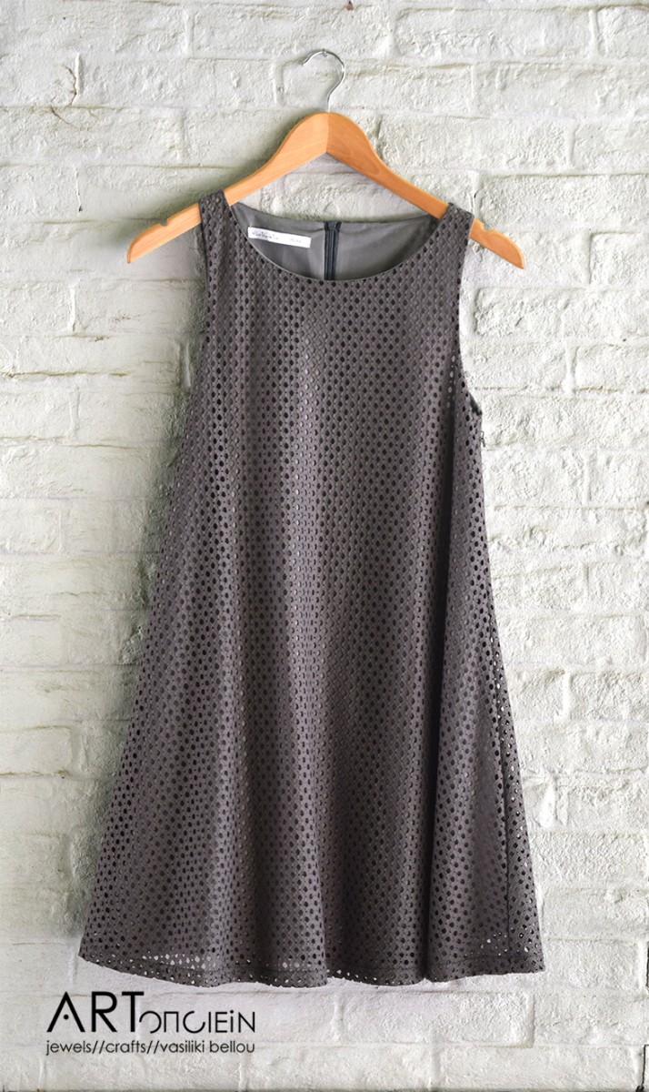 φόρεμα τρυπητό άλφα γραμμή Helmi Artonomous