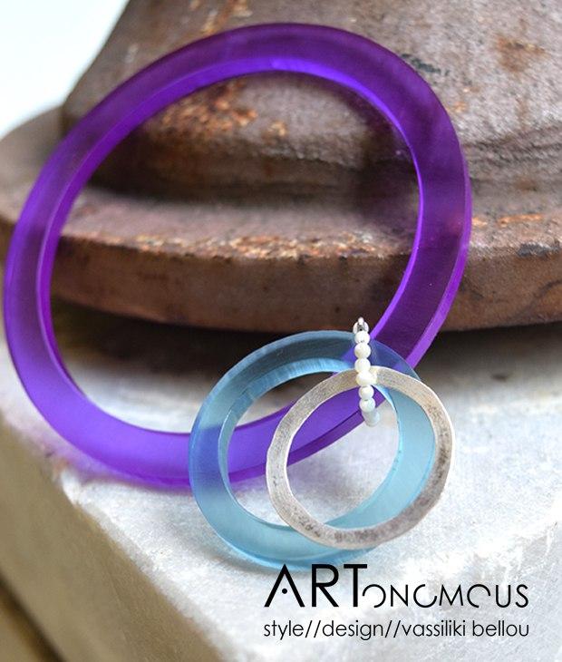 Plexiglas Bracelet Chrysoglou Artonomous