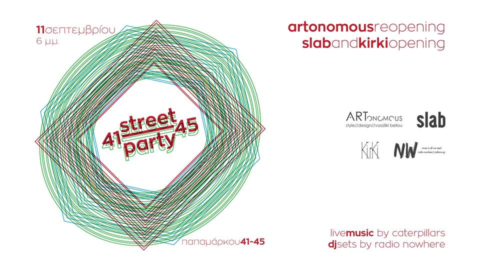 artonomous reopening party