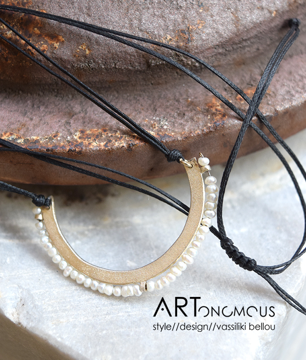 pearl pendant Xrysoglou artonomous