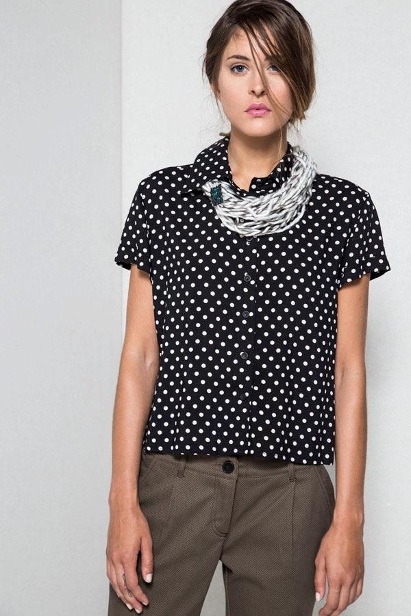 polka dot shirt Helmi artonomous