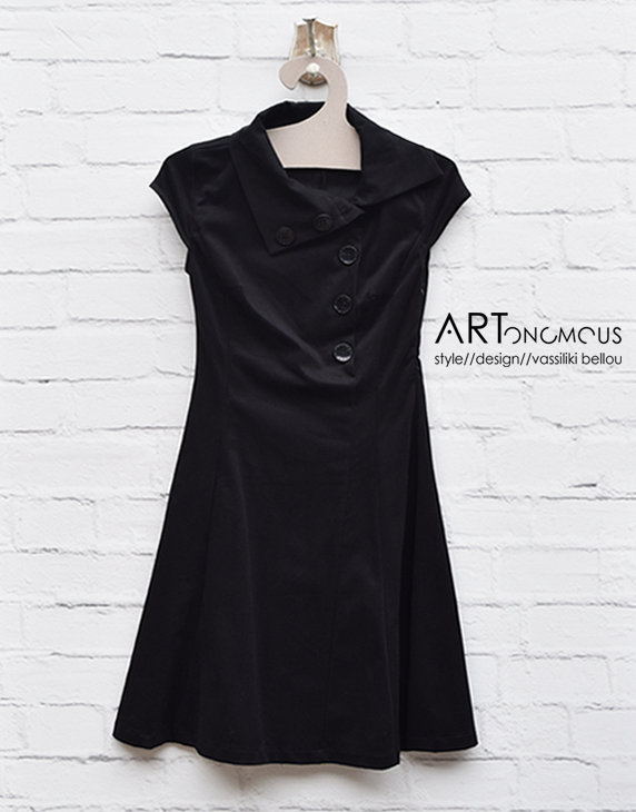 black dress Helmi artonomous