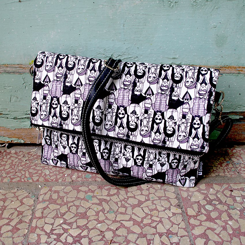 printed handbag artonomous