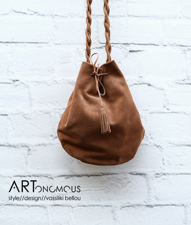 suede leather pouch Vinge Project artonomous