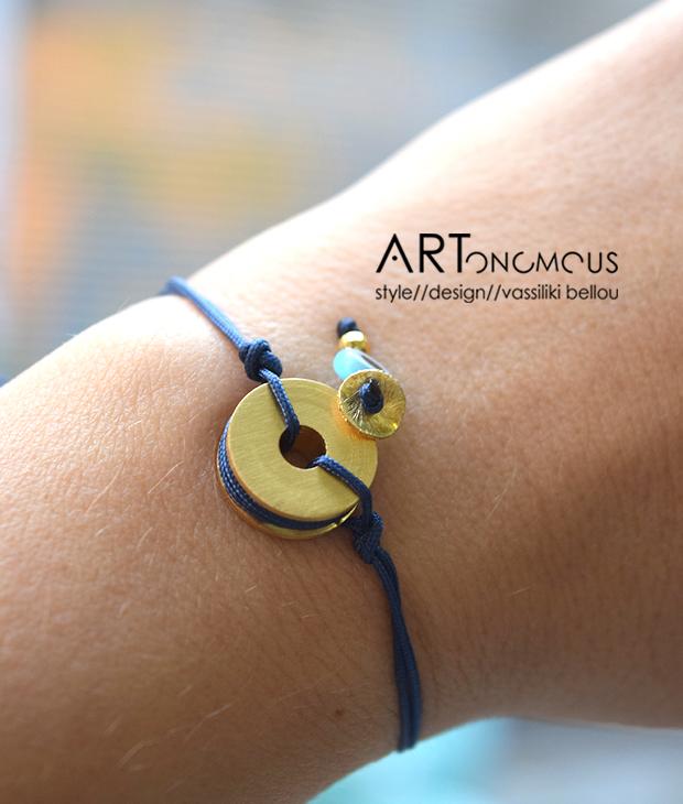 black bracelet tsaprali artonomous