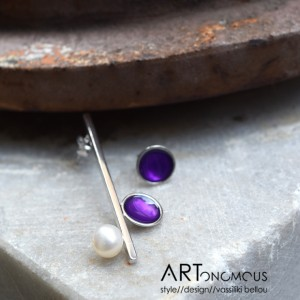 enamel ring A handmade artonomous