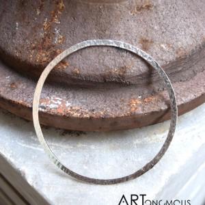 silver bangle bracelet S Design artonomous