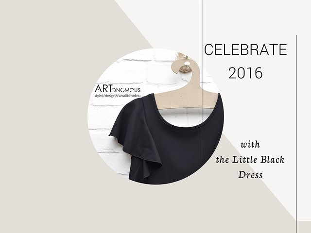 the Little Black dress artonomous