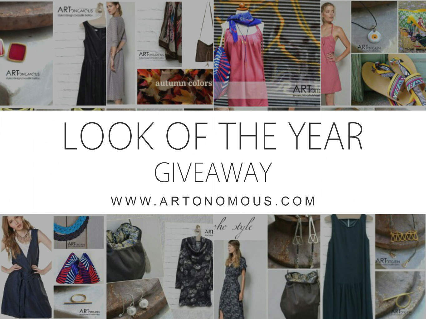 look of the year artonomous giveaway