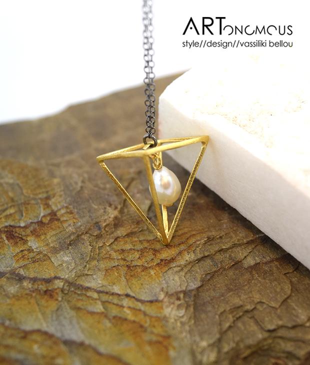 pearl pendant Anyfantis artonomous