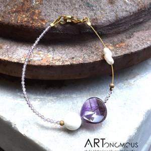 semi precious stones bracelet artonomous