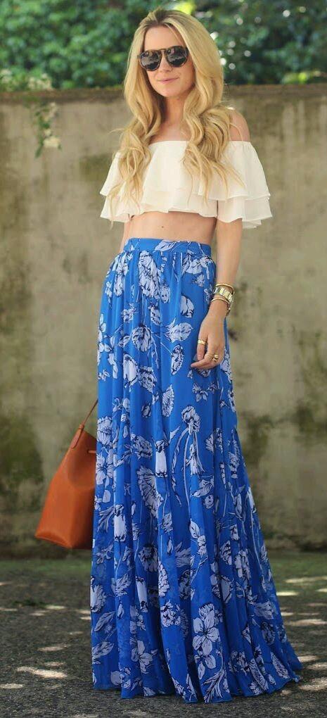 maxi summer skirt blog artonomous