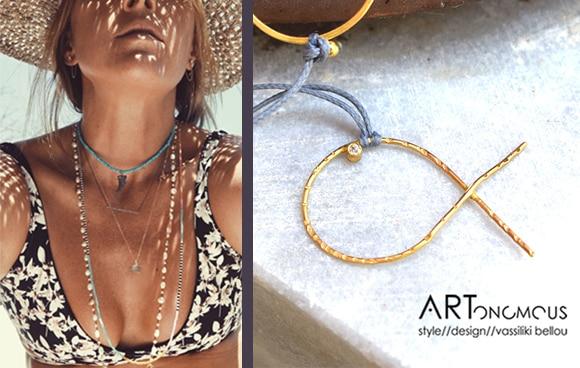 layered necklaces artonomous